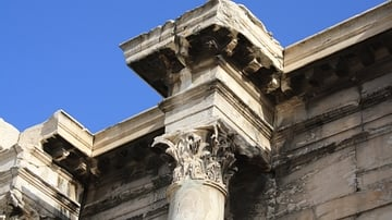 Capital, Library of Hadrian