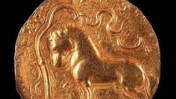Gold Coins - Gupta Period