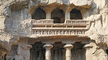 Shrine of the Kailasa Temple, Ellora