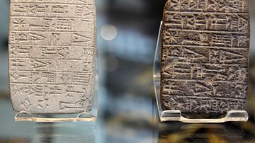 Cuneiform Tablets in Sumerian
