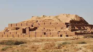Ziggurat Consecrated to God Inshushinak at Choqa Zanbil