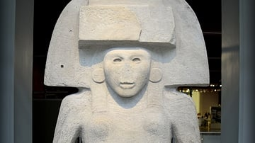 Huastecs' Mother Goddess from Mexico