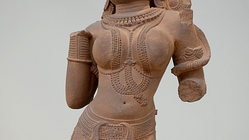 Statue of Surasundari (Heavenly) Beauty