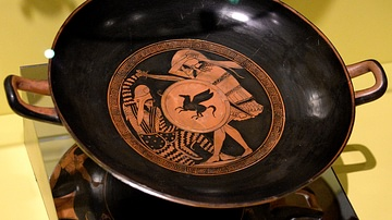 Kylix with Battle Scene