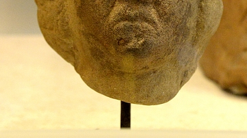 Head of a Local Deity, Birrens, Scotland
