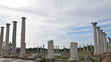 The Gymnasium of Salamis, Cyprus