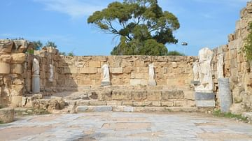 The Gymnasium Pool of Salamis, Cyprus