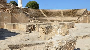 The Odeon of Nea Paphos, Cyprus