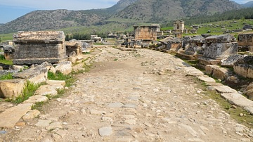 Roadway, Northern Necropolis of Hierapolis