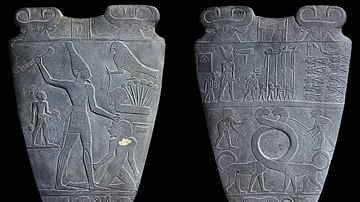 Narmer Palette [Two Sides]