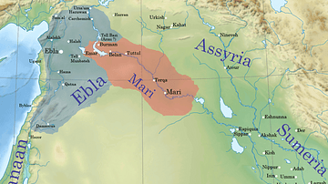 Ebla and Mari during the reign of Iblul-Il of Mari