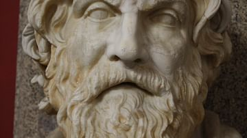 Antisthenes Bust, Vatican Museums