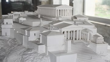 Model of the Athenian Acropolis