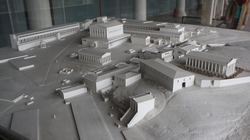 The Athenian Agora in the Roman Era