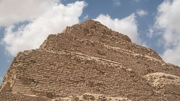 Detail, Step Pyramid of Djoser