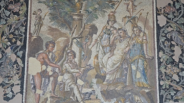 The Judgement of Paris Mosaic