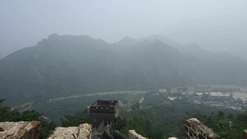 View From the Top of the Great Wall of China