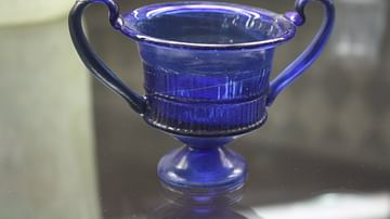 Roman Glass Kantharos