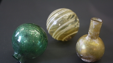 Roman Perfume Containers