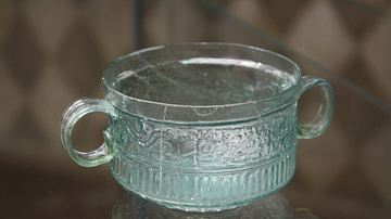 Roman Glass Two-handled Cup