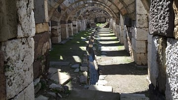 Aqueduct, Agora of New Smyrna