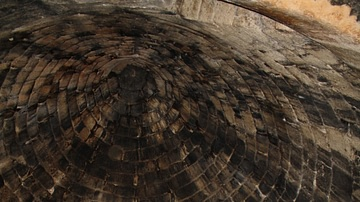 Interior Ceiling, Tholos of Mycenae