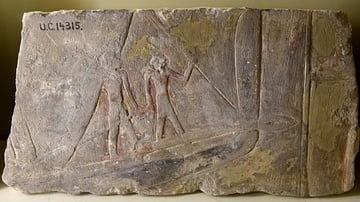 Ship and Sailors from ancient Egypt