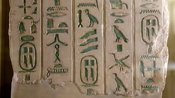 Ancient Egyptian Writing
