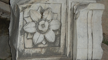 Detail of marble-work