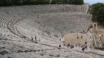 Seating of the Theatre of Epidaurus