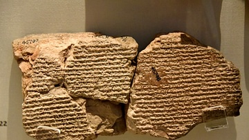 Tablet Describing Parthian Conquest of Babylonia