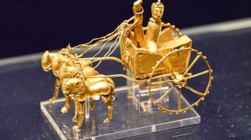 Egyptian Model Chariot