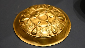 Gold Bowl from the Oxus Treasure