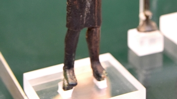 Copper Alloy Male Figure from Ancient Lebanon