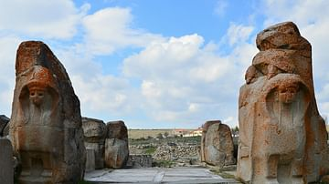 The Sphinx Gate, Alacahöyük (Hittite settlement)