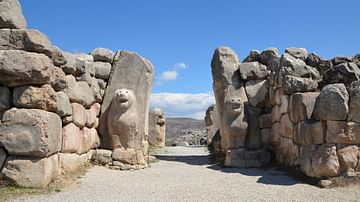 Lion Gate at Hattusa