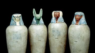 Canopic Jars of Neskhons