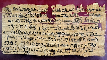Hieratic Funerary Papyrus of Tphous