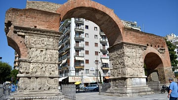 Arch of Galerius, Thessalonica