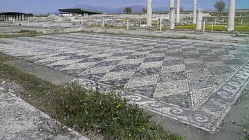 House of Dionysos at Pella, Macedonia