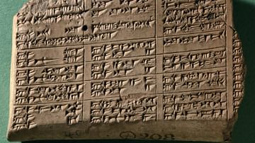 Neo-Assyrian Cuneiform Lexical List