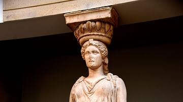 Caryatid from the Erechtheum