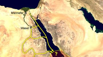Supposed Location of the Land of Punt