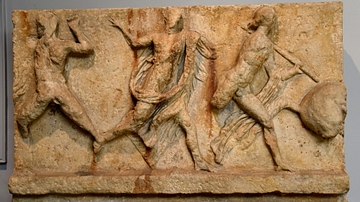 The Centaur Frieze of the Mausoleum at Halicarnassus