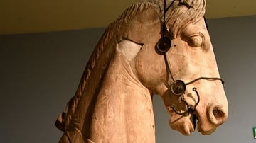 Statue of a Horse from the Mausoleum at Halicarnassus