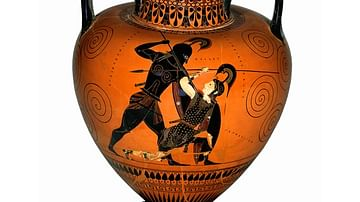 Firing Athenian black and red figure vases