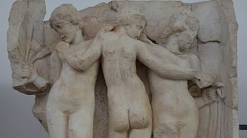 Relief with the Three Graces