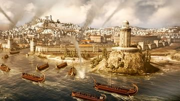Roman Naval Attack on Carthage
