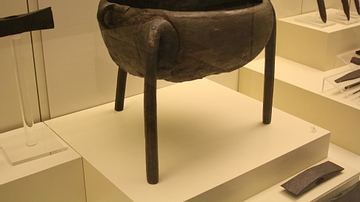 Bronze Tripod Cauldron, Mycenae