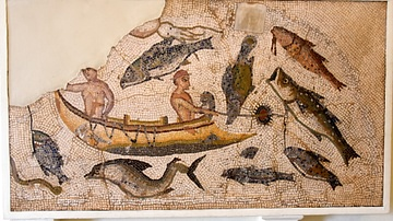 Fishing Mosaic, Utica